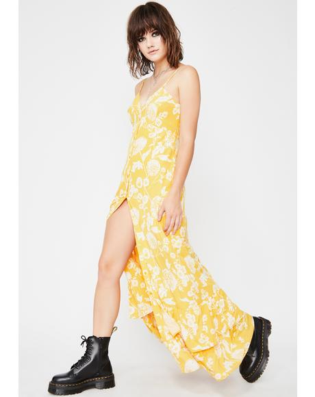 Sunny Lucky Spirit Floral Dress