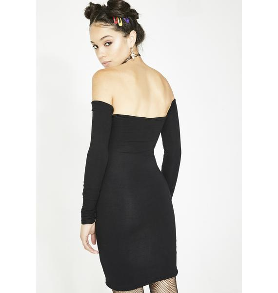 O Mighty Love Is Love Off The Shoulder Dress
