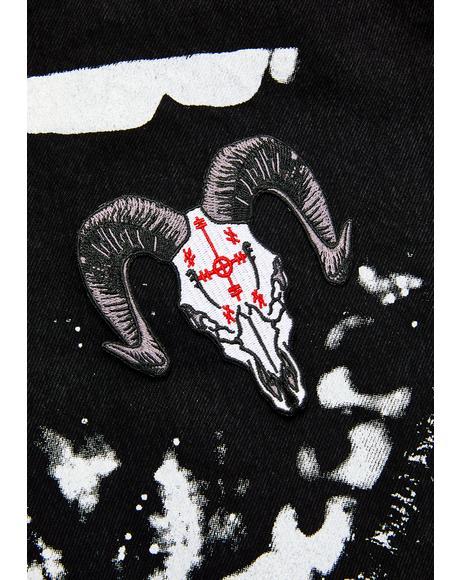 Voodoo Goat Skull Patch