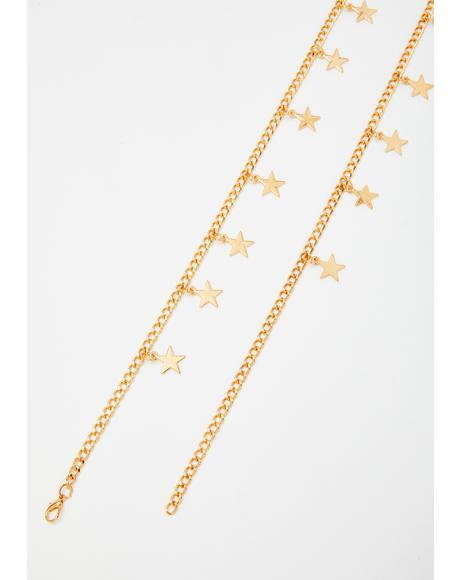 Golden Star Quality Chain Belt