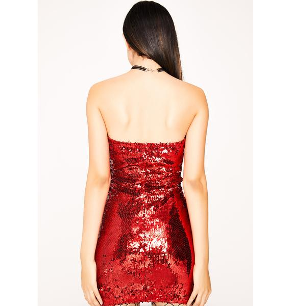 Misdeed Sequin Dress