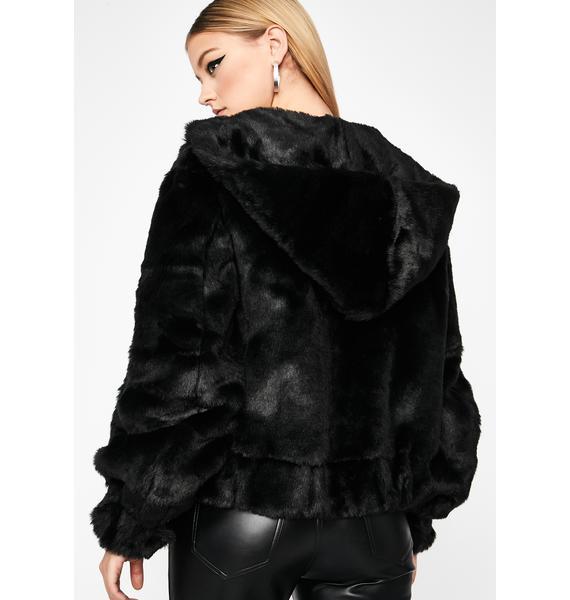 I'm The Realest Faux Fur Coat