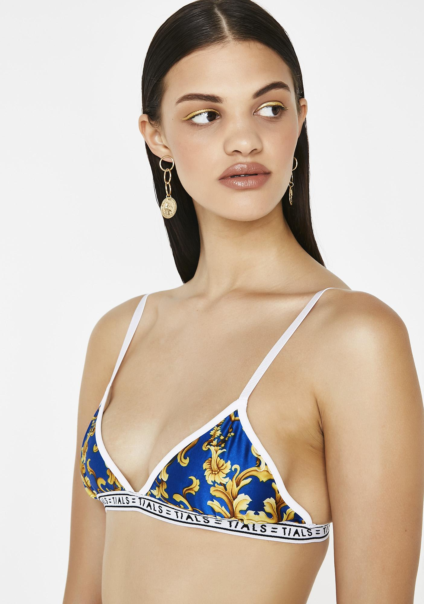 This Is A Love Song x Baroque Sky Simple Bra