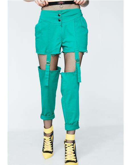 Garter Belt Pants