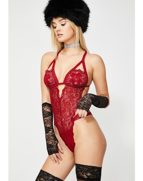 Mistress Mama Lace Teddy