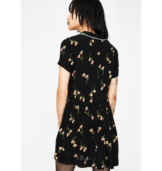 Current Mood Aromatherapy Floral Dress