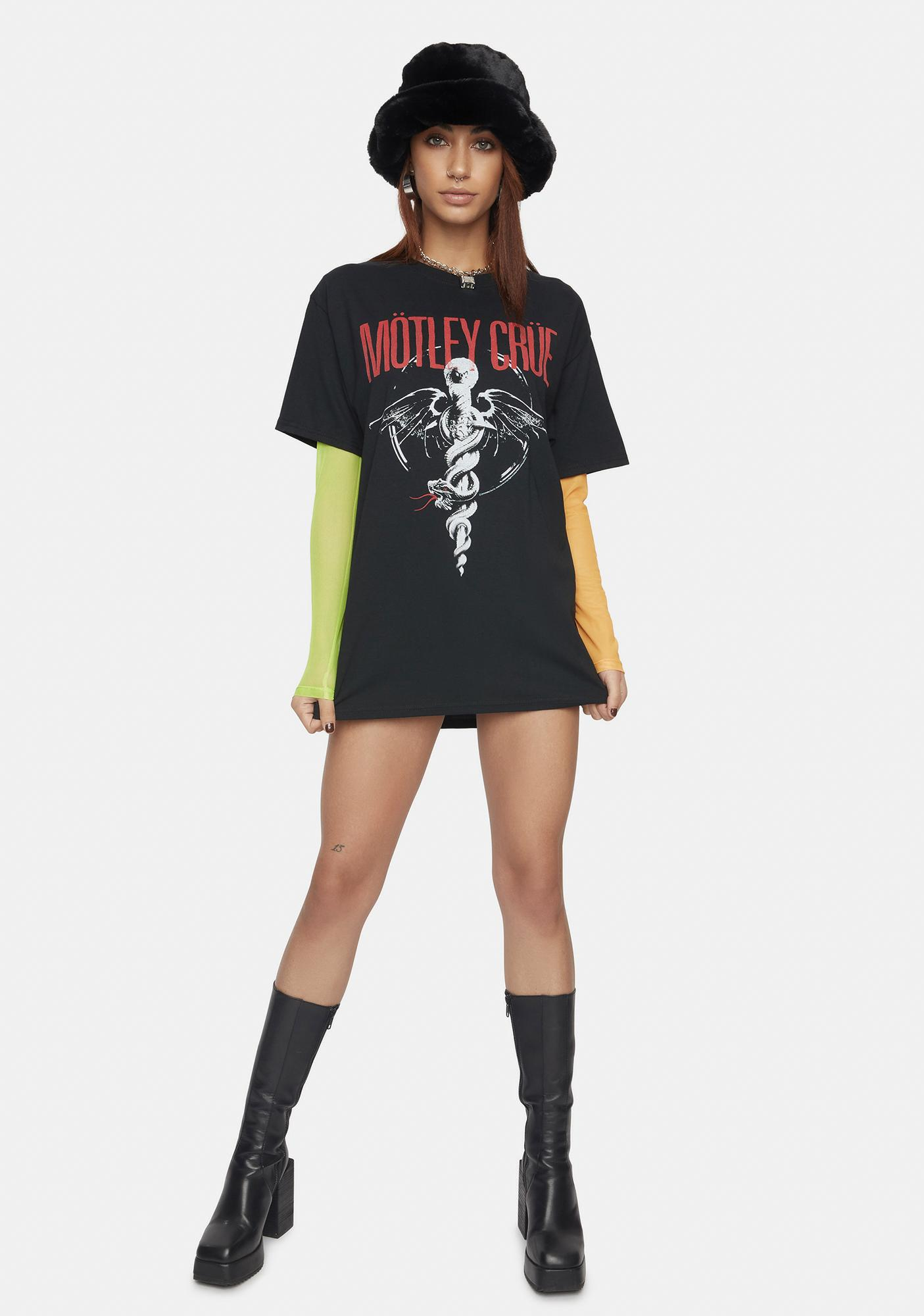 American Classics Motley Crue Dr Feel Good Graphic Tee