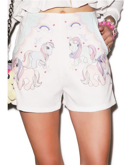 Ride It My Pony Shorts
