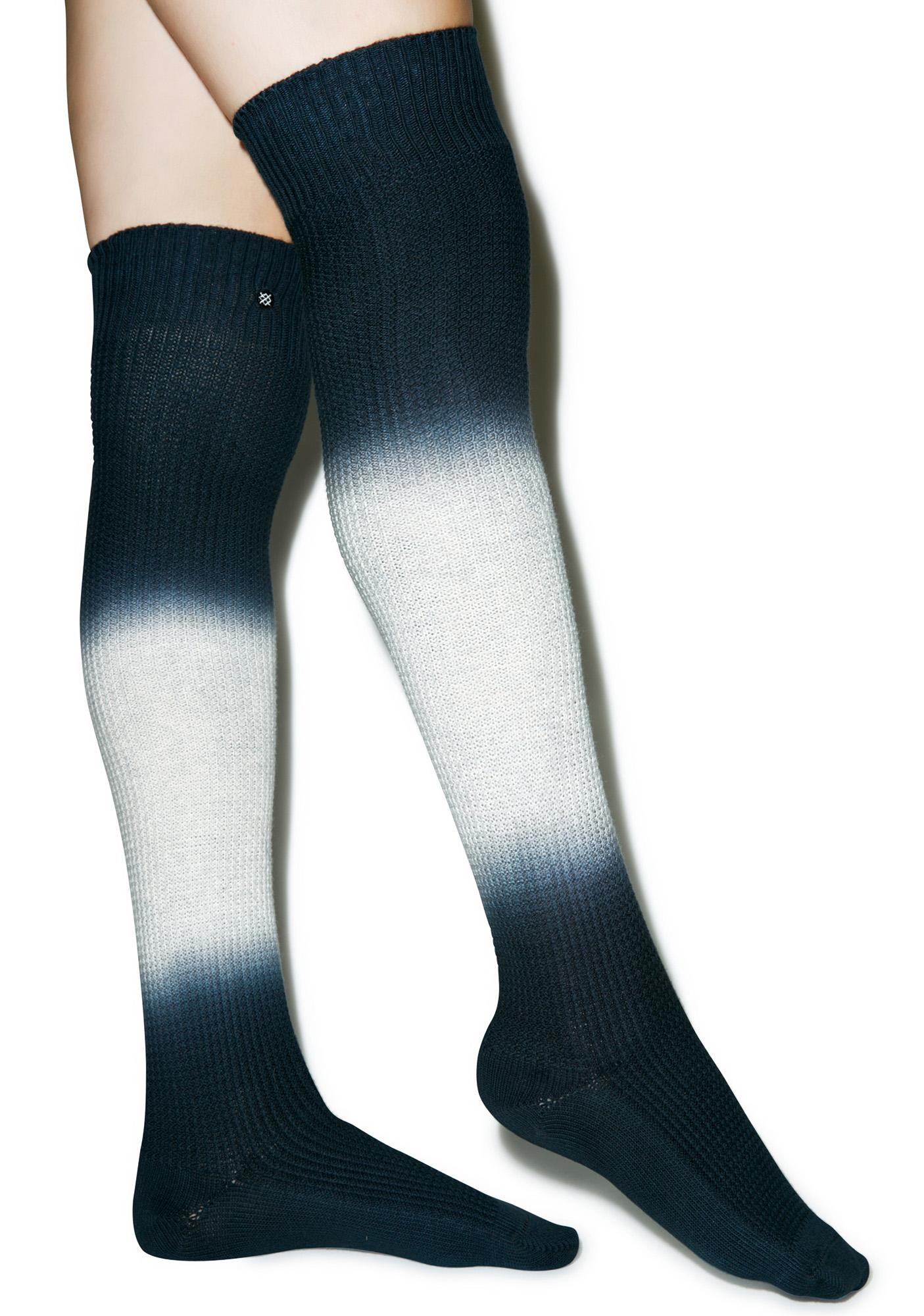Stance Vanish Over The Knee Socks