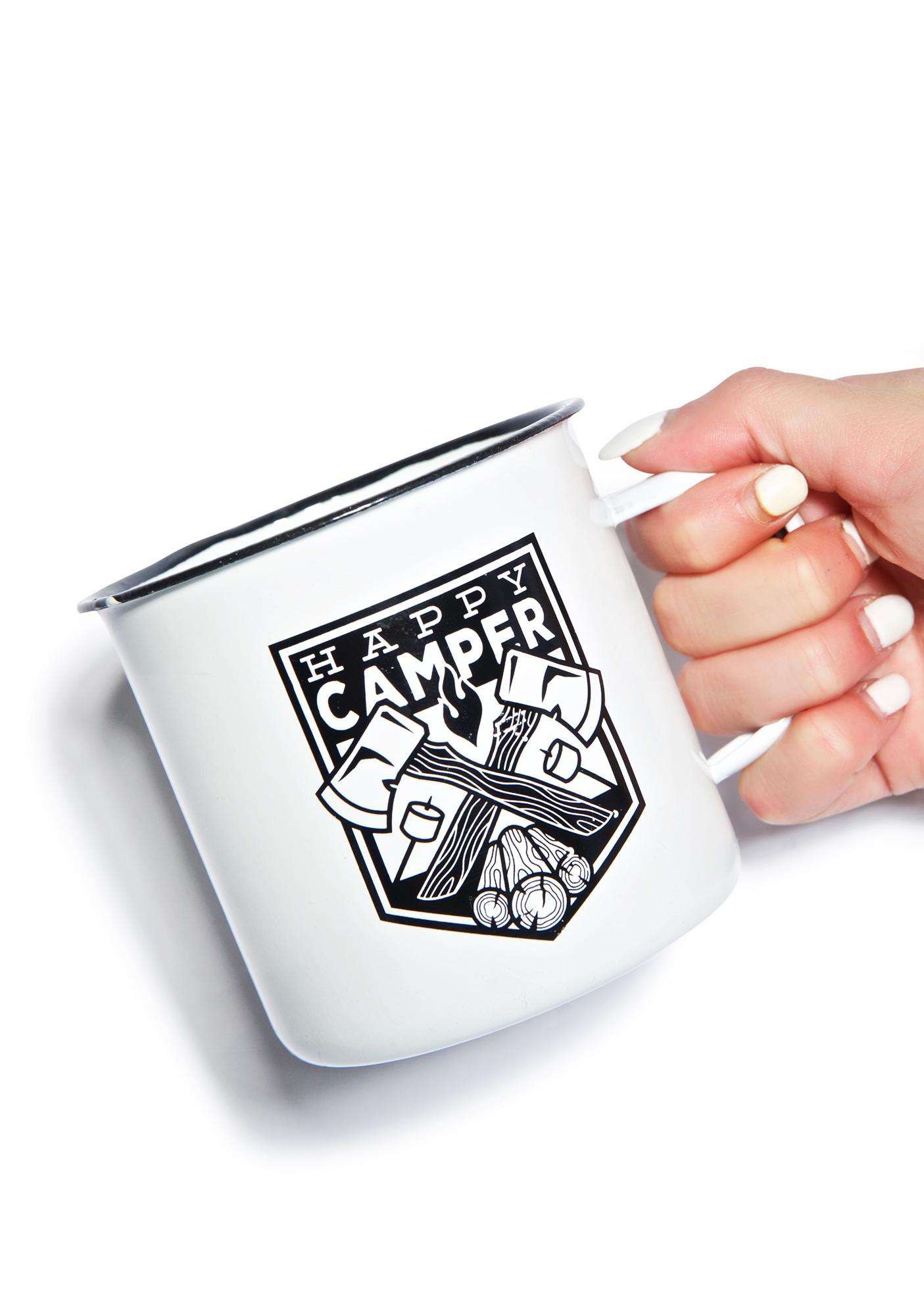 Sourpuss Clothing Happy Camper Coffee Cup