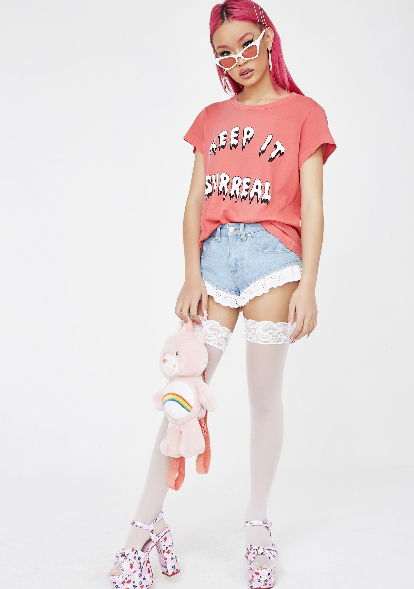 Wildfox Couture Keep It Surreal Tee