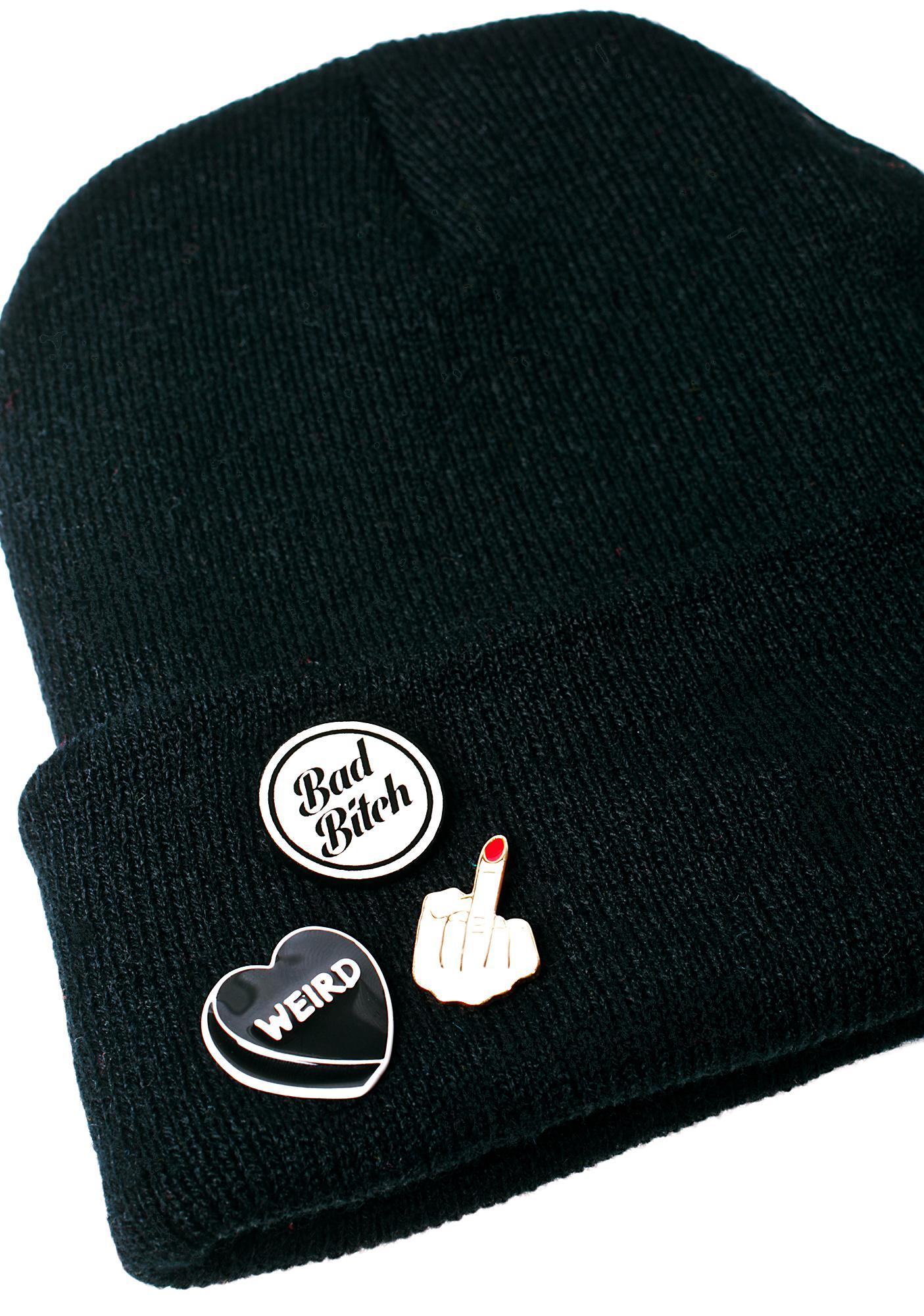 Witch Worldwide Bad Bitch Pin