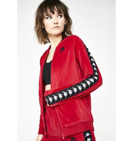 Kappa Authentic Mivvie Velour Jacket