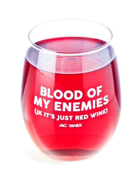 Blood Wine Glass