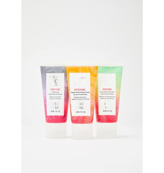 C'EST MOI BEAUTY Sleepover Facial Mask Set