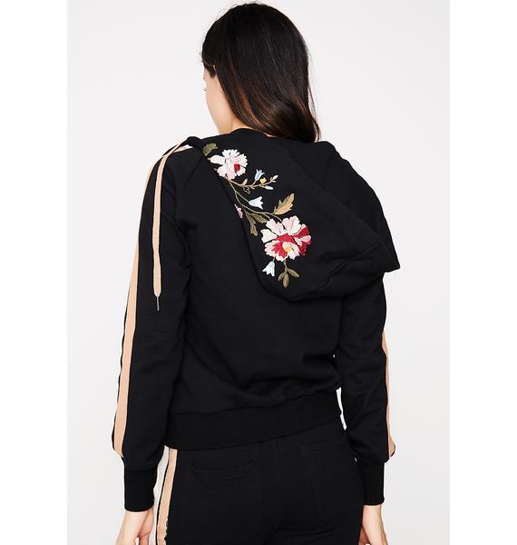 Floral Medley Track Jacket