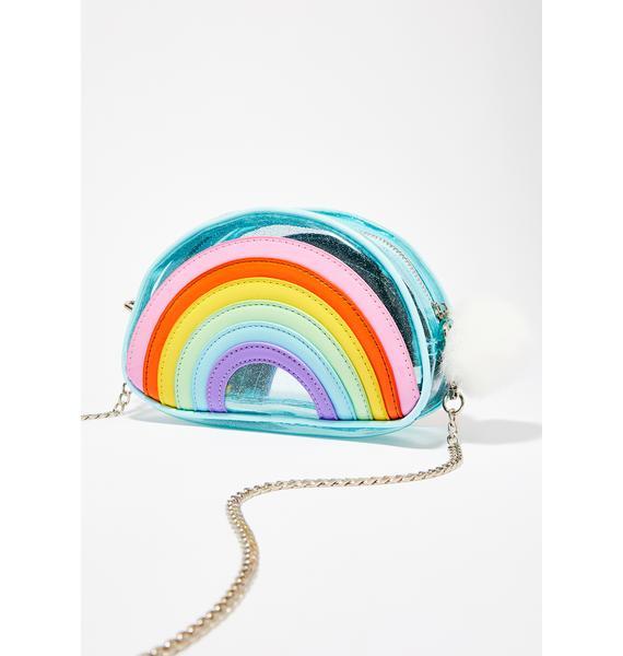 Sugar Thrillz Rainbow Magic Glitter Crossbody