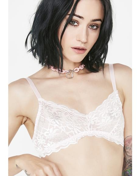 Take Notice Sheer Bralette