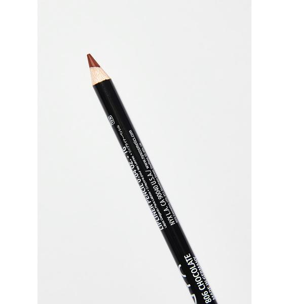 NYX Chocolate Slim Lip Liner Pencil