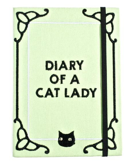Diary Of A Cat Lady Journal
