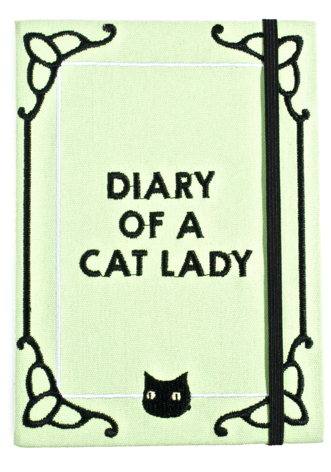 Valfré Diary Of A Cat Lady Journal