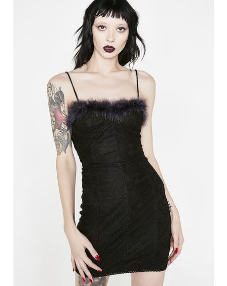 Furry Nice Mini Dress