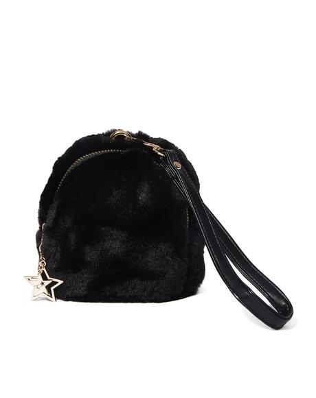 Soft Spot Furry Wristlet
