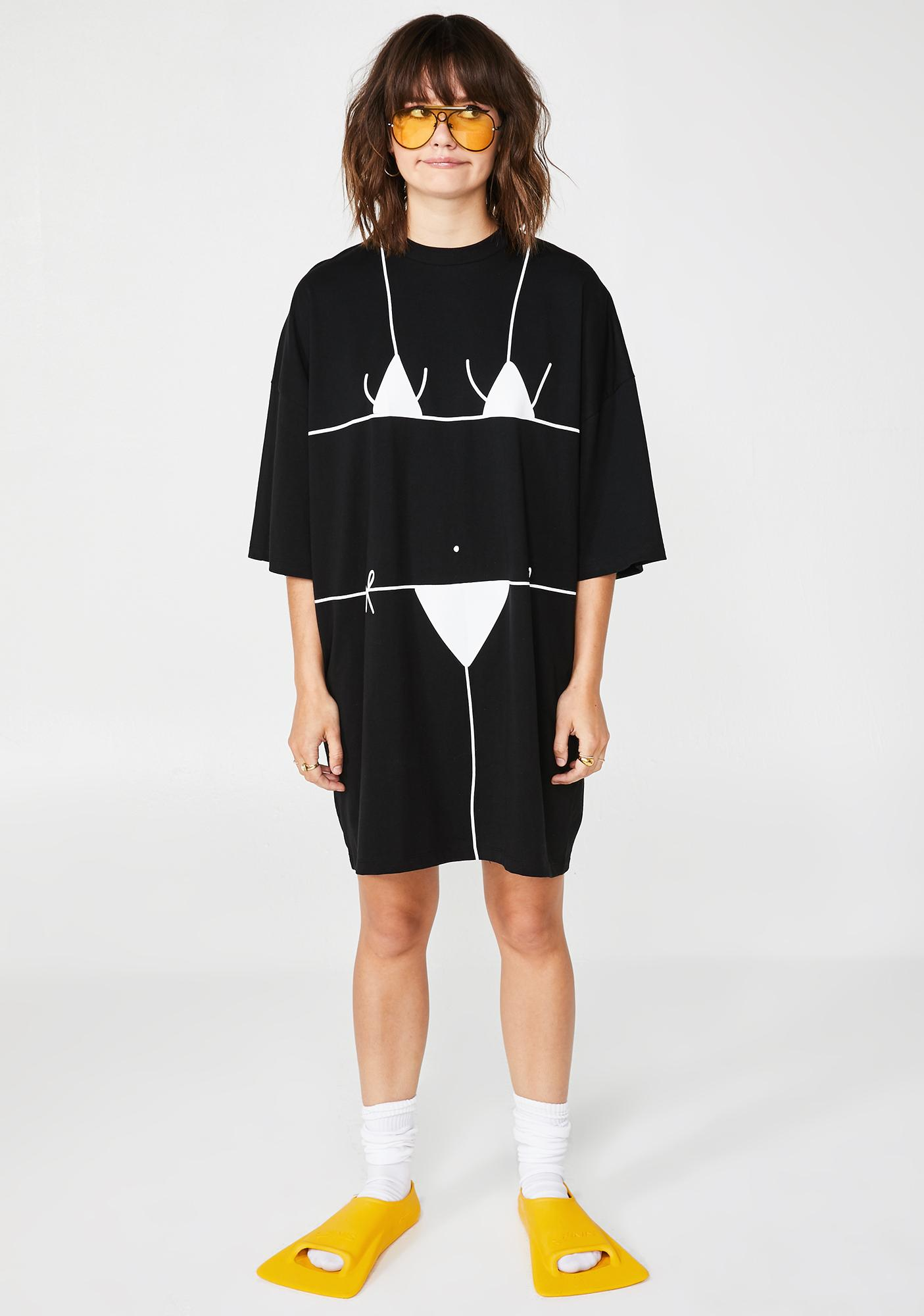Lazy Oaf Beach Bum T-Shirt Dress