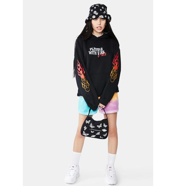 MOODSWINGS Playing With Fire Graphic Hoodie