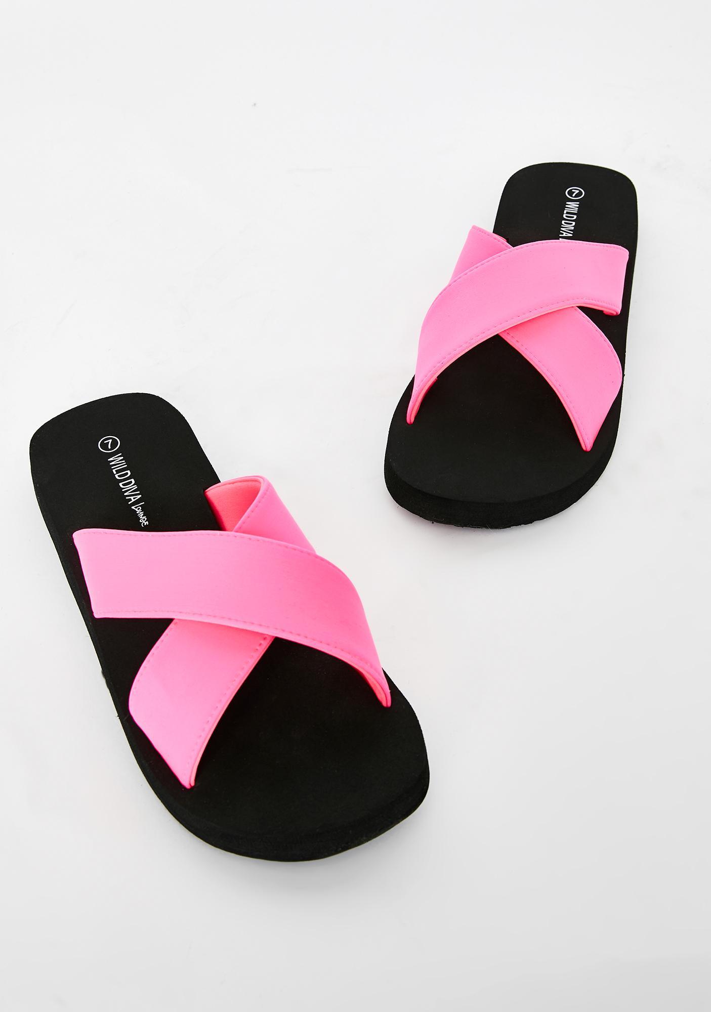 Vacay Time Sandal Slides