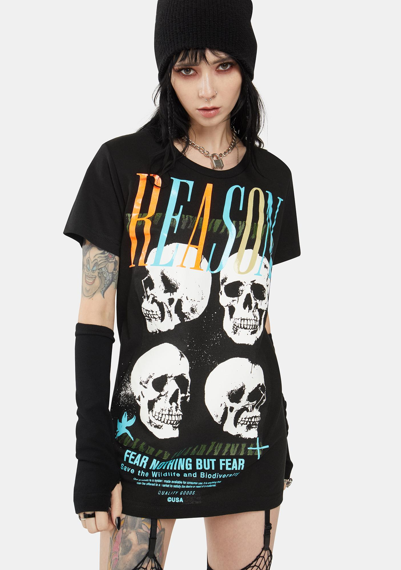 Reason Skulls Graphic Tee