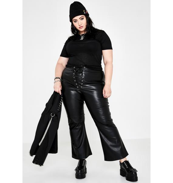 Current Mood Miss Immortal Menace Flare Pants