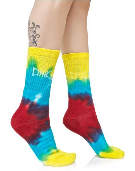 OG Tie Dye Socks