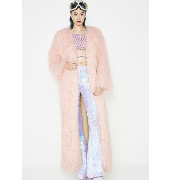 J Valentine Twilight Sparkle Longline Coat