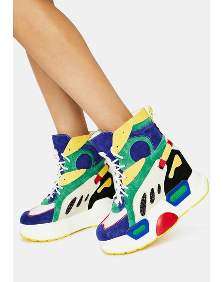 Rainbow Mulberry Sneakers