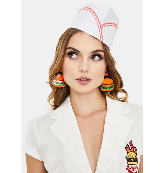A Side Of Fries Drop Earrings