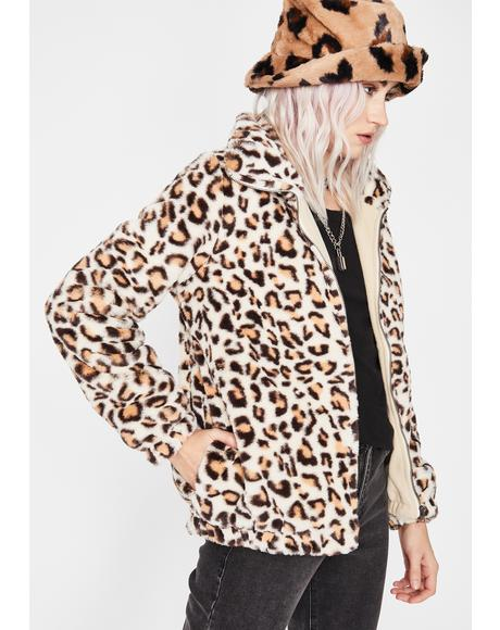 Wild Dreams Faux Fur Coat