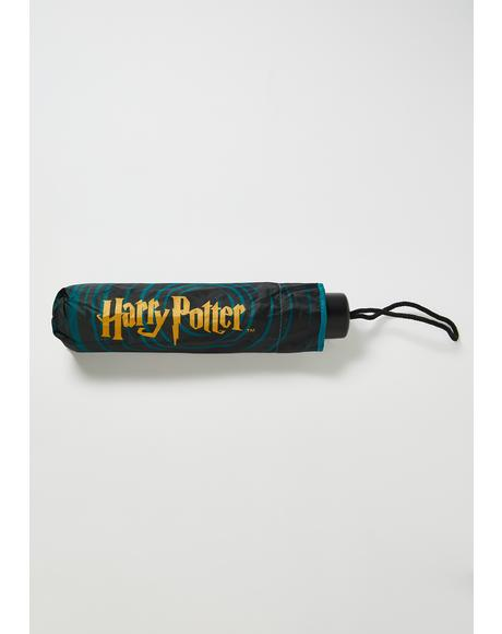 Hogwarts Houses Harry Potter Umbrella