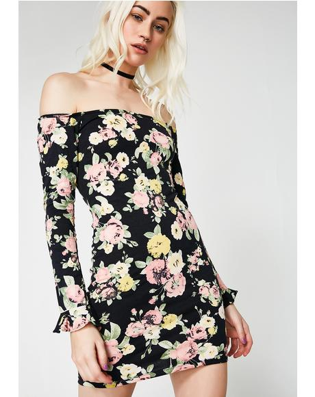 Jasier Off The Shoulder Dress
