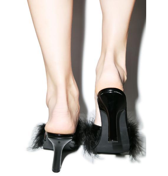 Sasha Maribou Kitten Heels
