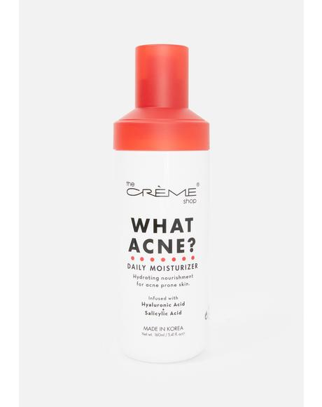 What Acne? Daily Moisturizer