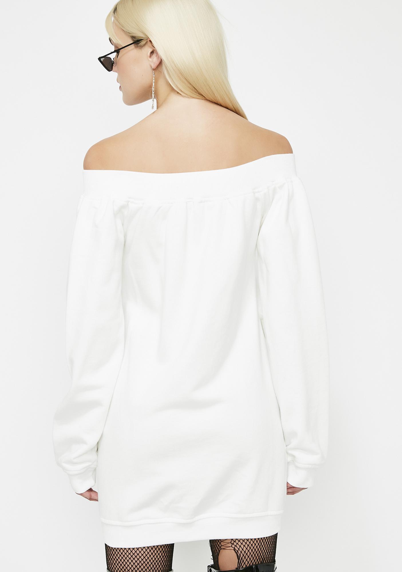 Busy Plotting Sweatshirt Dress