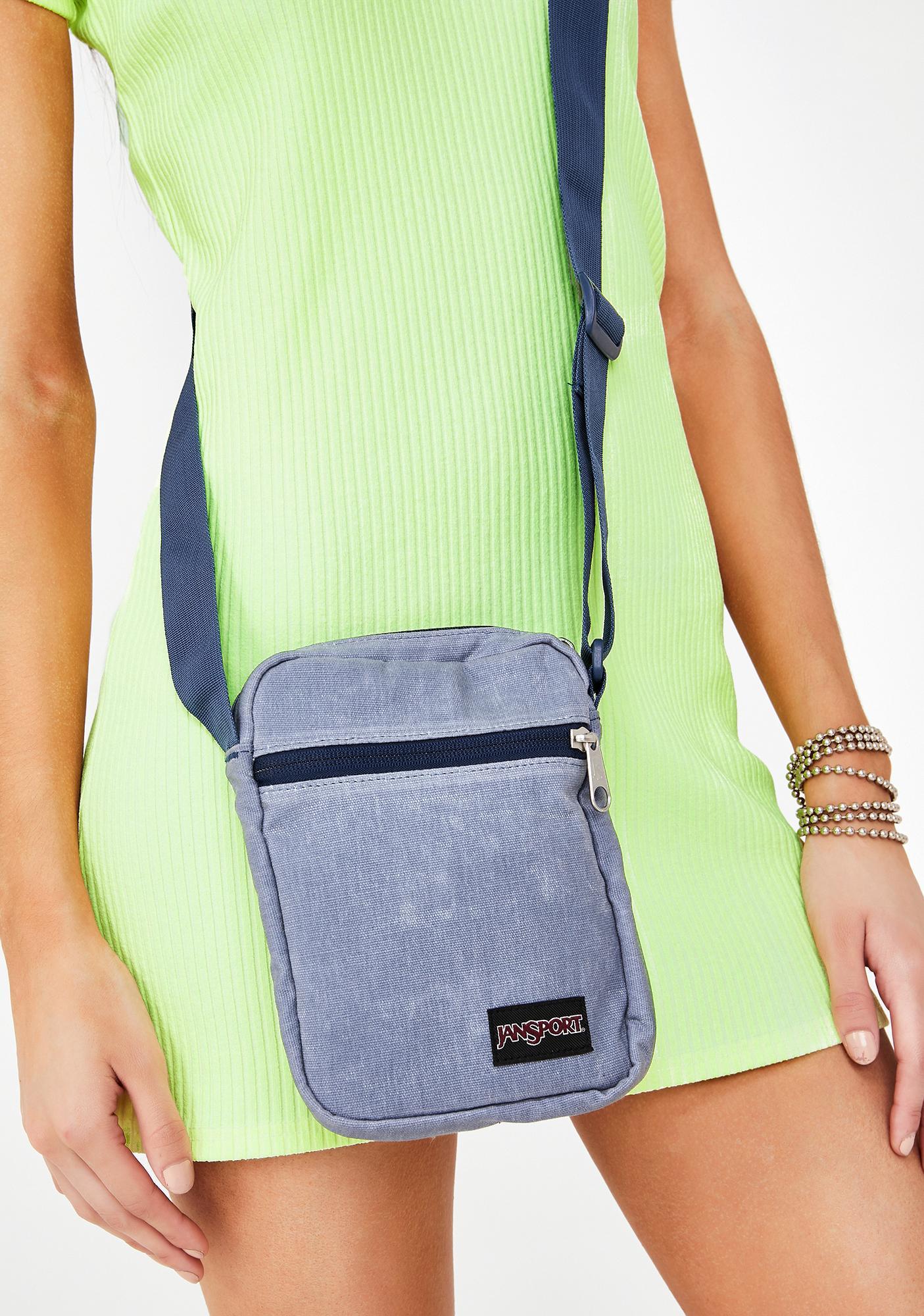 JanSport Grey State Weekender Crossbody Bag