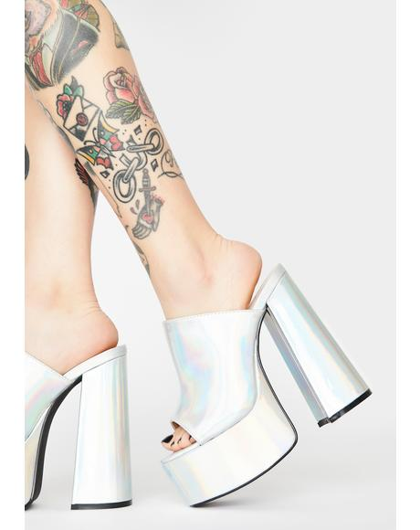 Holographic High School Reunion Platform Mules