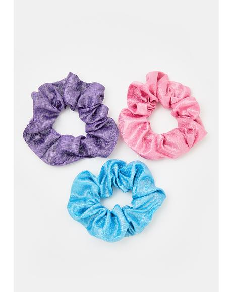 Sparkle N' Shine Scrunchie Set