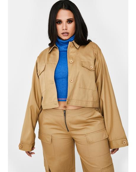 Booked Meetings On Rodeo Utility Jacket