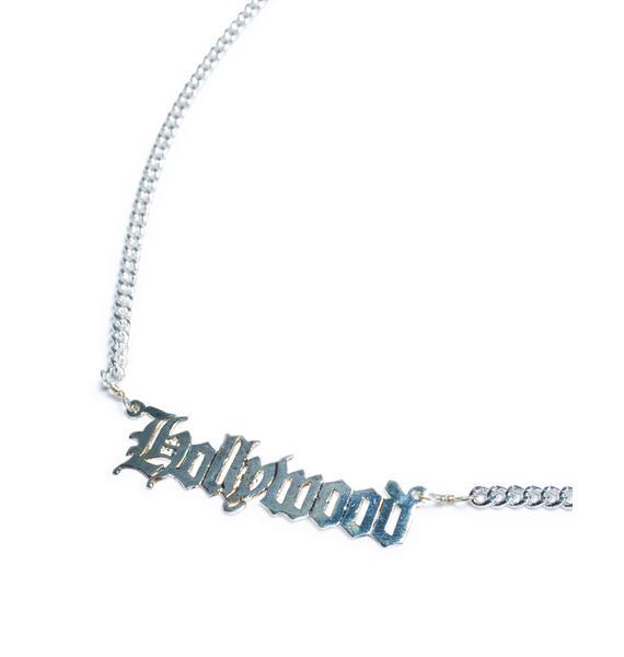 Vidakush Hollywood Nameplate Choker