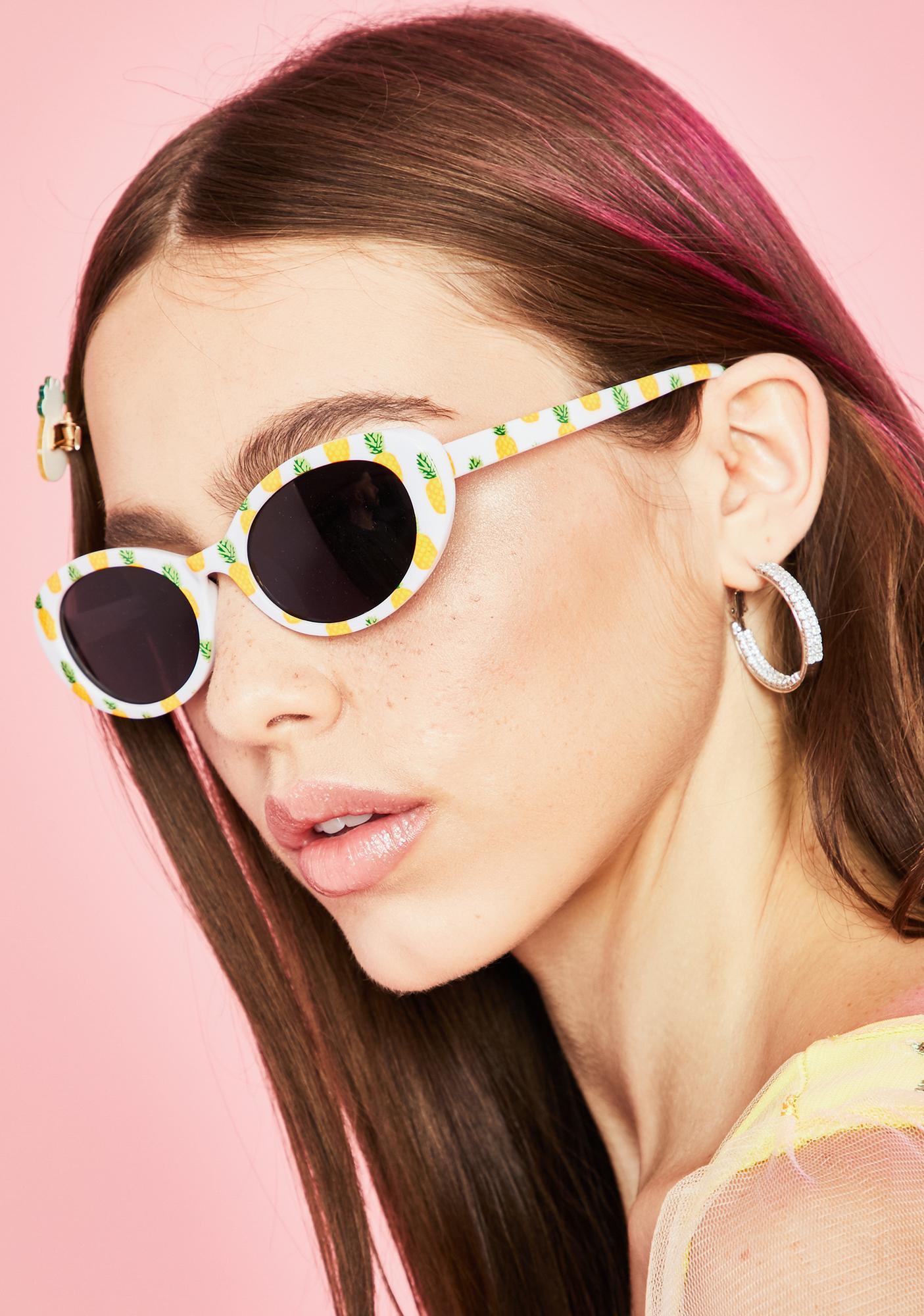 I Got The Juice Pineapple Sunglasses