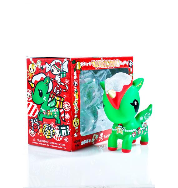 "Tokidoki Holiday Unicorno 5"" Vinyl Figure"