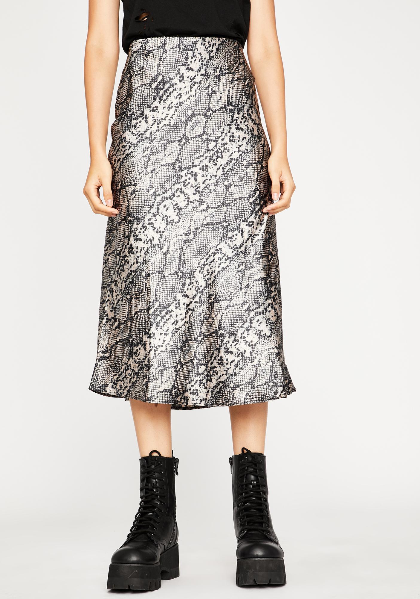 Bitten Lush Club Midi Skirt
